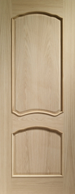 Internal Doors Oak Louis with Raised Mouldings