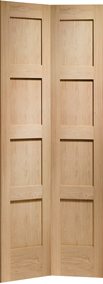 Internal Doors Oak Shaker Bi-Fold