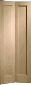 Internal Doors Oak Pattern 10 Bi-Fold